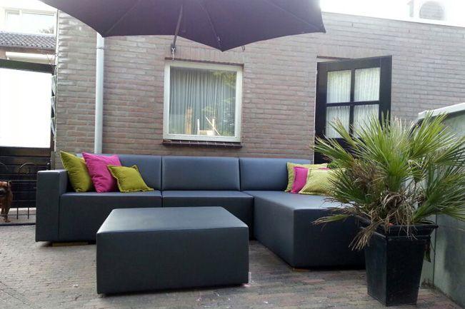Loungebank tuin loungebanken tuin lounge tuinbank for Ligzetel tuin