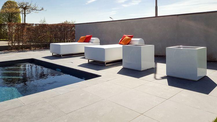 Luxe eenpersoons loungebedden
