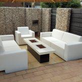 Lounge-set wit