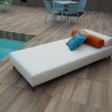 loungebed zwembad