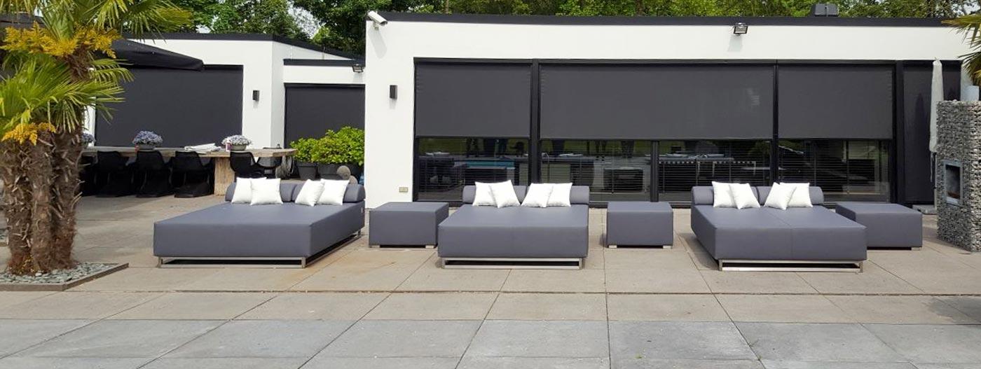 Loungebeddenserie outdoor relax
